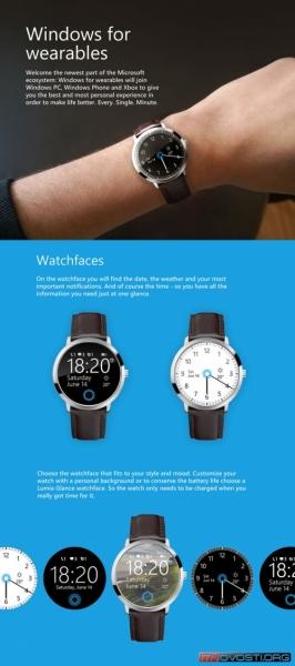 Дизайнер показал концепт умных часов Microsoft