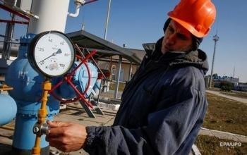 Запасы газа Украины уменьшились до 9 млрд куб. м